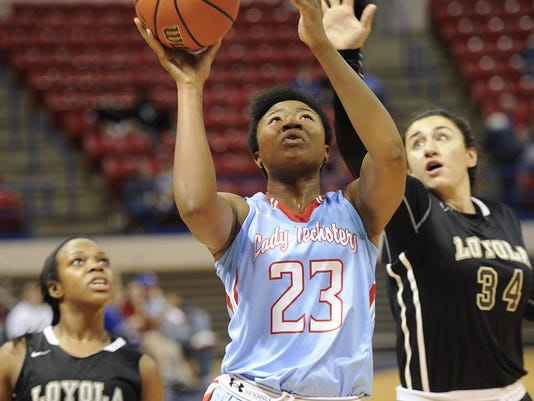 Lady Techster Basketball vs Loyola