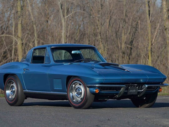 This 1967 Chevrolet Corvette owned by a late war hero
