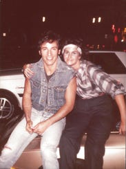 Tammy Milan took this picture with Bruce Springsteen