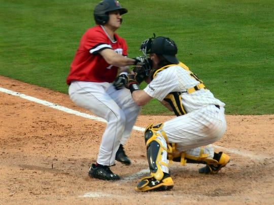 Southern Miss catcher Cole Donaldson was a stalwart behind the plate for the Golden Eagles in 2017.