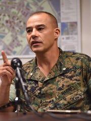 Maj. Timothy Patrick, public affairs officer for U.S.