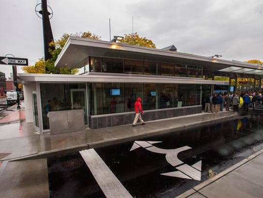 The Downtown Transit Center opened in Burlington on