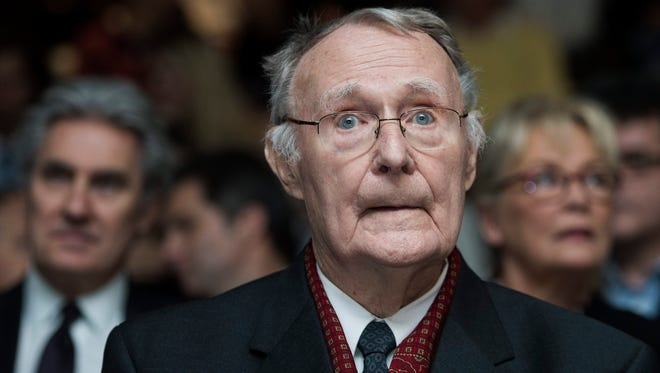 Ingvar Kamprad, founder of IKEA, in 2012.
