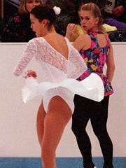 Nancy Kerrigan and Tonya Harding were on the ice at