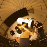 A visitor looks through the Kresge 20-inch telescope at Kopernik Observatory & Science Center in Vestal.