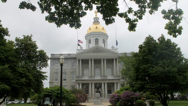 The New Hampshire Statehouse in Concord.