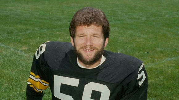 Jack Ham is one of Penn State's only members of the college and pro football halls of fame. He won four Super Bowls with the Pittsburgh Steelers.