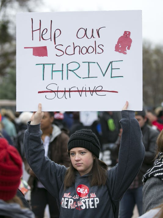 Oklahoma City teacher strike