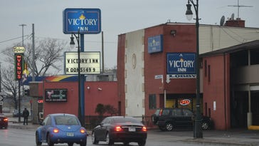 The Victory Inn on Detroit's west side was raided earlier this month by 150 law-enforcement personnel.