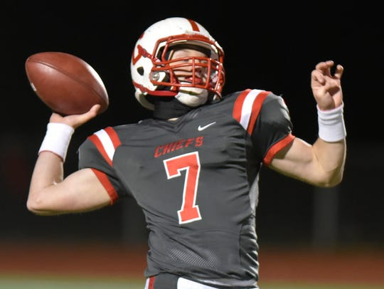 Canton QB Conner Engel is an All-KLAA Black Division selection.