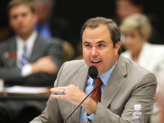 Joe Gruters, a state rep who chaired Donald Trump's Florida campaign, is also head of the Sarasota County Republican Party.