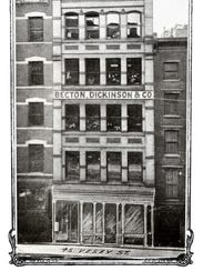 BUSINESS BEGINNING Becton Dickinson's first location