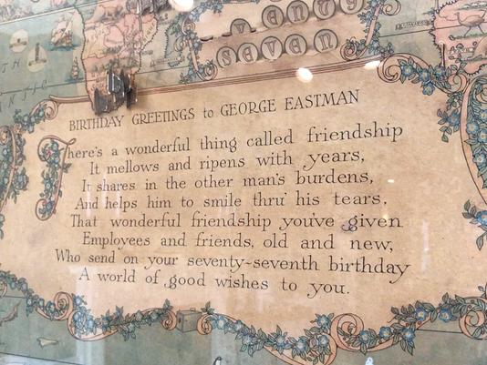 Eastman Birthday