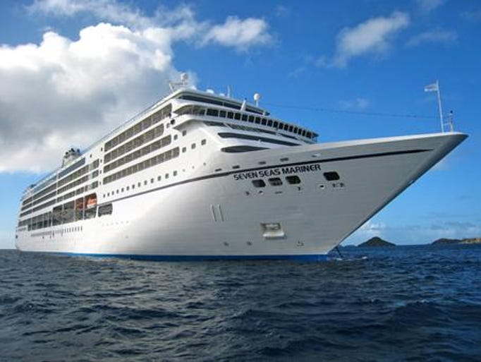 The 48,075-ton Seven Seas Mariner is one of three deluxe cruise ships operated by Regent Seven Seas Cruises. The Mariner was originally commissioned in 2001 for Radisson Seven Seas Cruises, which became Regent Seven Seas Cruises in 2006.