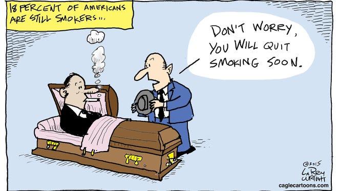 Larry Wright, CagleCartoons.com, drew this Desert Sun editorial cartoon for March 10, 2016.
