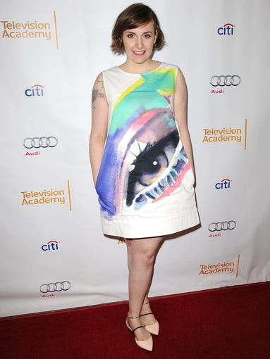 Lena Dunham has made her mark as the creator/executive producer/star of HBO's 'Girls,' which debuted in April, 2012. Here, she attends The Television Academy Presents an Evening with 'Girls,' on March 13, 2014, in North Hollywood, Calif.