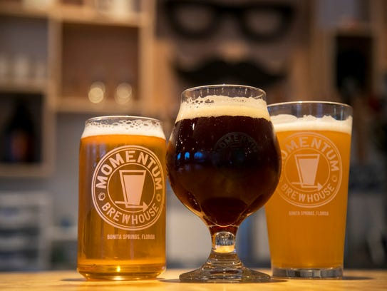 Momentum Brewhouse carries about ten of their beers