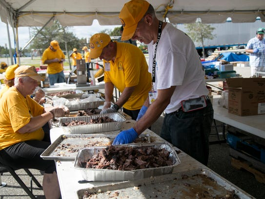 Volunteers from the Alabama Southern Baptist Convention