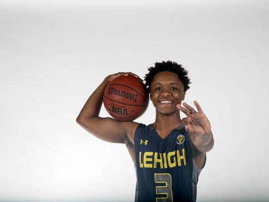 Bershard Edwards, Lehigh Senior High School, basketball