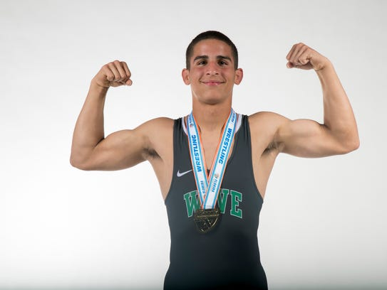 Chris Rivera, Fort Myers High School, wrestling all-area