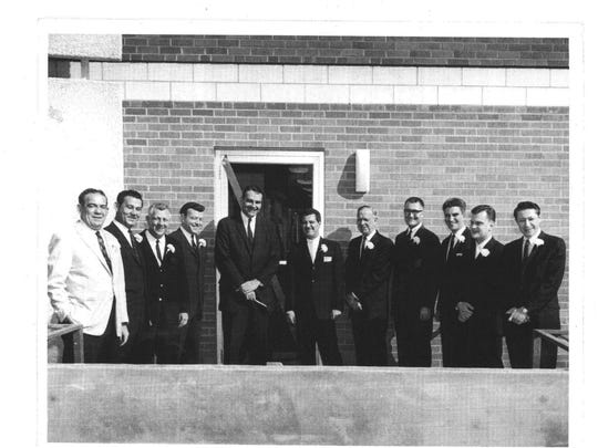 New office dedicated in 1963 by Memphis Federation