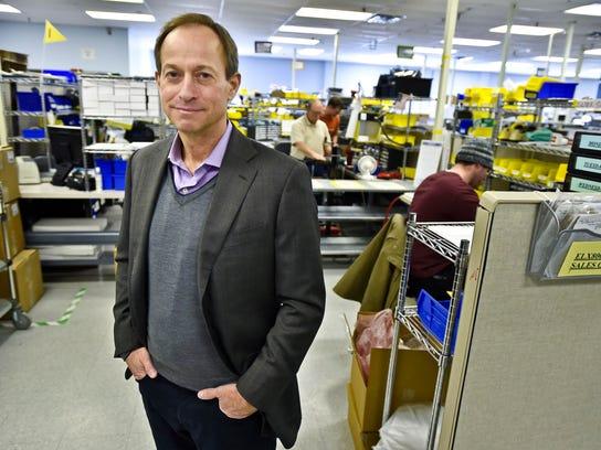 Briar Alpert, president of BioTek Instruments in Winooski,