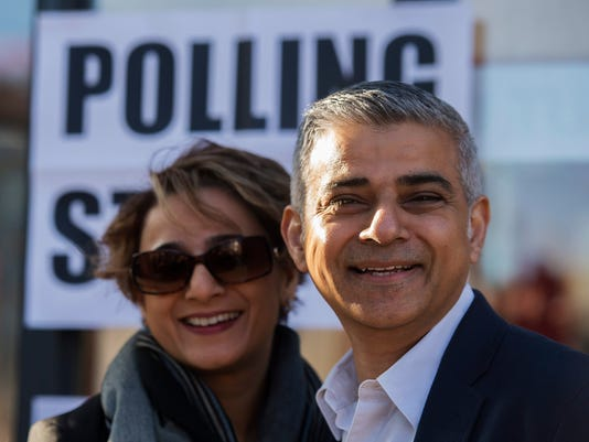 EPA BRITAIN LONDON MAYOR ELECTIONS POL ELECTIONS GBR