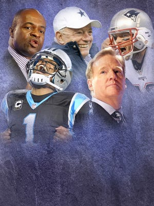 USA TODAY Sports names the Top 100 most important people in the NFL.