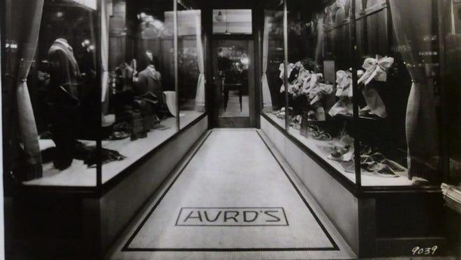 Hurd's Men's Store, East Lansing, undated photo.