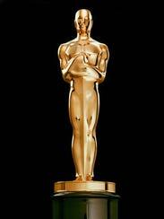 The Oscar statuette.