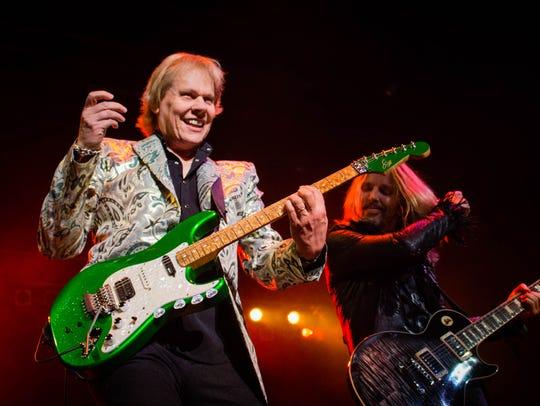 Eighties band, Styx rocks the Tallahassee Pavilion.