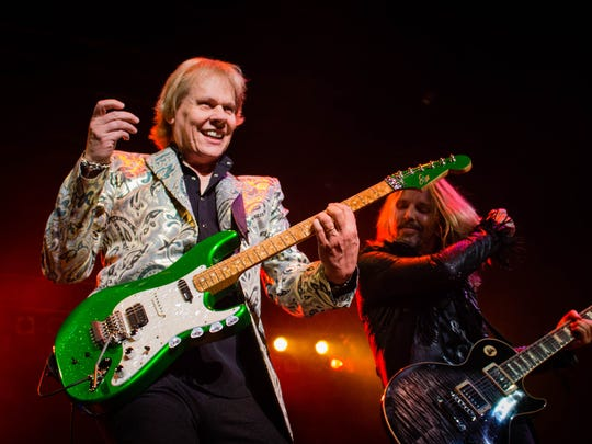 Eighties band, Styx rocks the Tallahassee Pavilion.