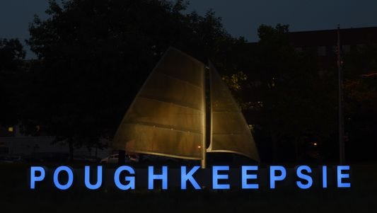"""The """"Poughkeepsie"""" sign"""