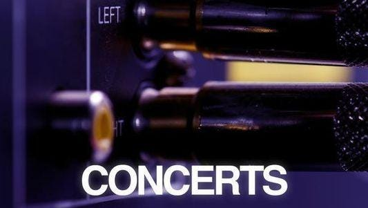 Concerts.