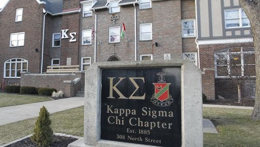 Kappa Sigma Chi house on the Purdue West Lafayette campus.