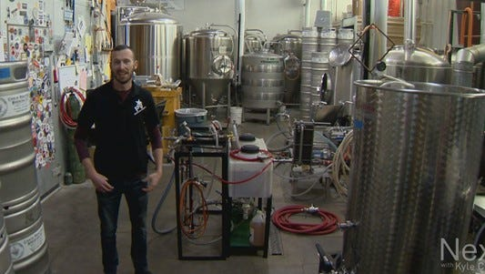 Sean Peters lived in his car for six months while he tried to get on his feet. Now he's getting ready to open his own craft brewery.