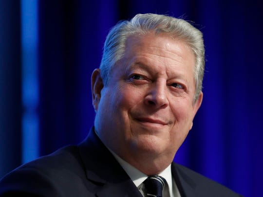 Former vice president Al Gore in April 2017.
