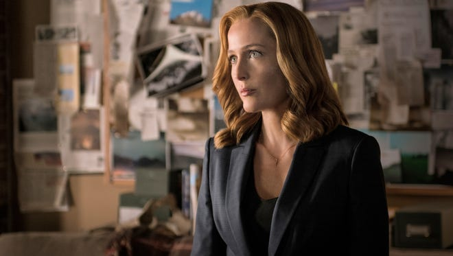 Gillian Anderson as Scully on 'The X-Files.'