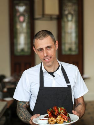 Decca chef Cody Stone.