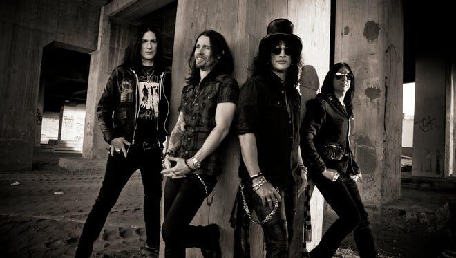 Slash and Aerosmith are ready to rock Michigan tonight.