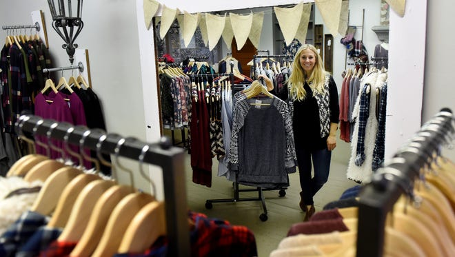 Katie Luttmann is the owner of Mason Jar Boutique, a clothing store based in Dell Rapids.