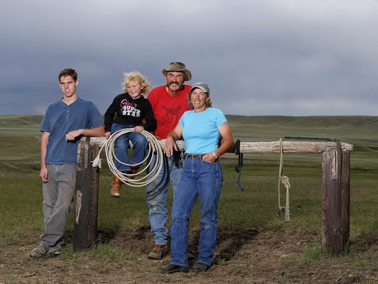 From left, Will Early, Abby Hutton, Steve Hutton and