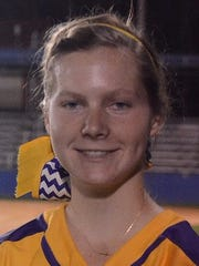 Byrd's Callie Crandall pitched a no-hitter against