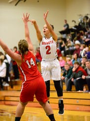 Sophia Eli scored 12 points Friday for Oak Harbor.