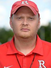 Richmond High School soccer coach Matt Haynes