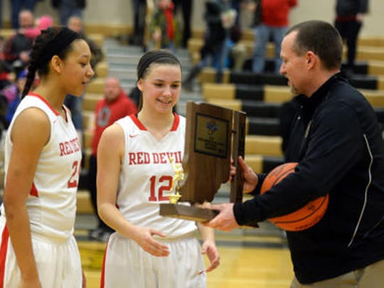 "Talent plus tenacity: Richmond's Mackenzie Taylor helped the Red Devils return to the top of the North Central Conference and the sectional title. She leaves as Richmond's third all-time leading scorer, despite missing time with injury.  ""She is just one of those kids,"" Richmond's girls basketball coach Casey Pohlenz said. ""If she wanted to be a golfer, she'd be great at it. If she wanted to be a ping-pong player, she'd be great at it.  ""She's one of those rare mixes of talent and tenacity. Whatever she does, she's going to be successful at it."""