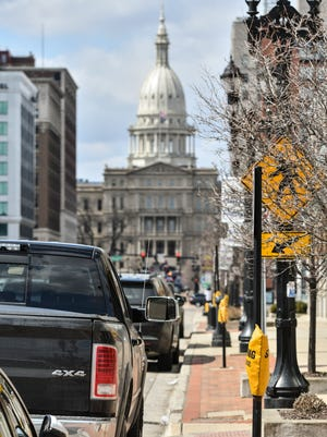 The City of Lansing earned this week the Golden Crater Award from a non-profit news organization that covers transportation issues.