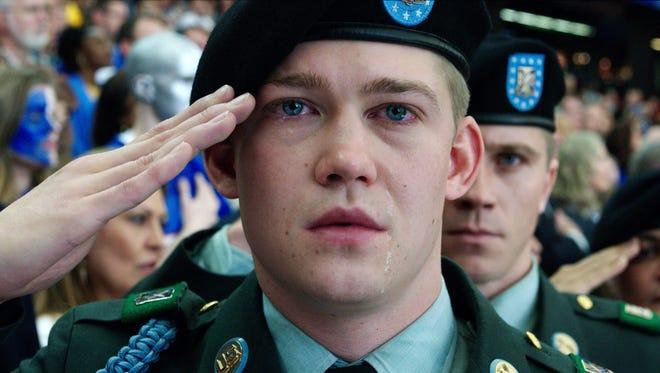 Joe Alwyn is Billy Lynn in 'Billy Lynn's Long Halftime Walk,' which premiered at the New York Film Festival Friday.