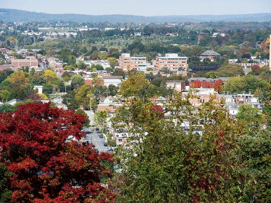York from Reservoir Hill Sunday October 12, 2014 Paul Kuehnel - Daily Record/Sunday News