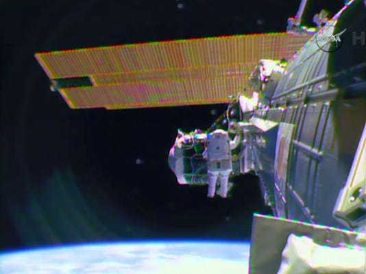 Space Station Spacewalk